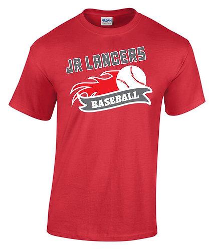 Cotton Red Short Sleeve T-Shirt