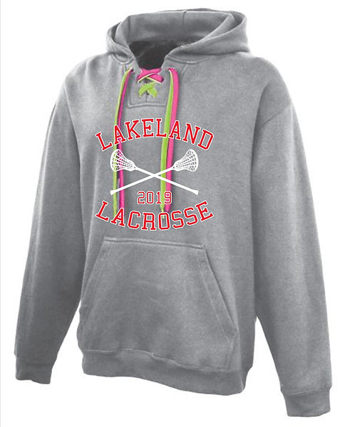 Skate Lace Hoodie w/Two Tone Laces