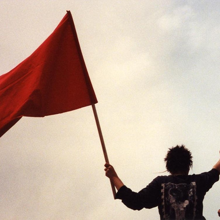 Wave Goodbye: Red Flags with Mags
