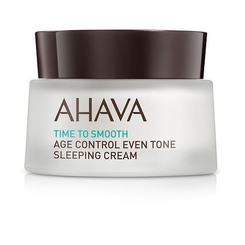 Time To Smooth: Age Controle Even Tone Sleeping Cream