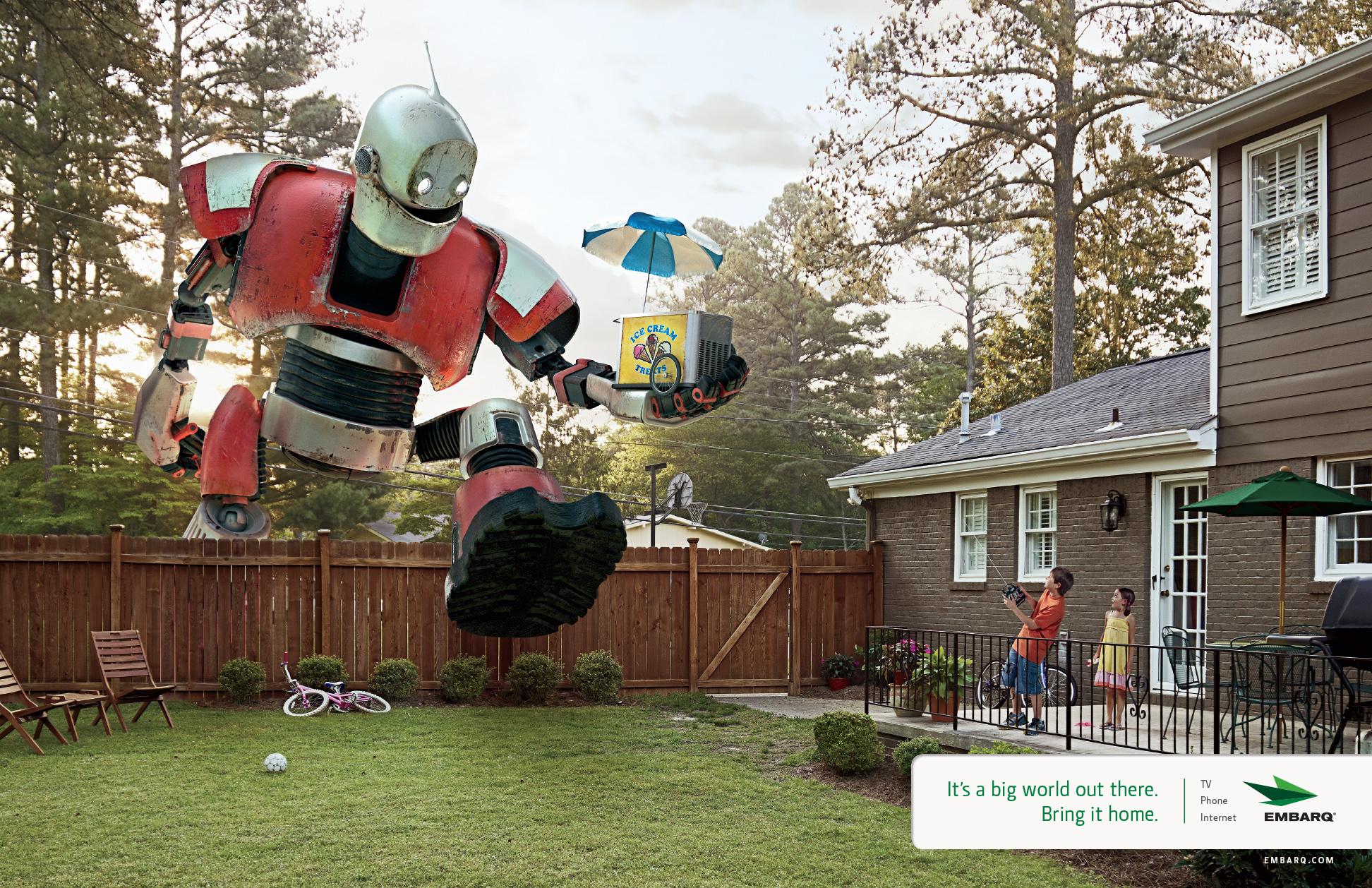 Ice Cream Delivery Robot