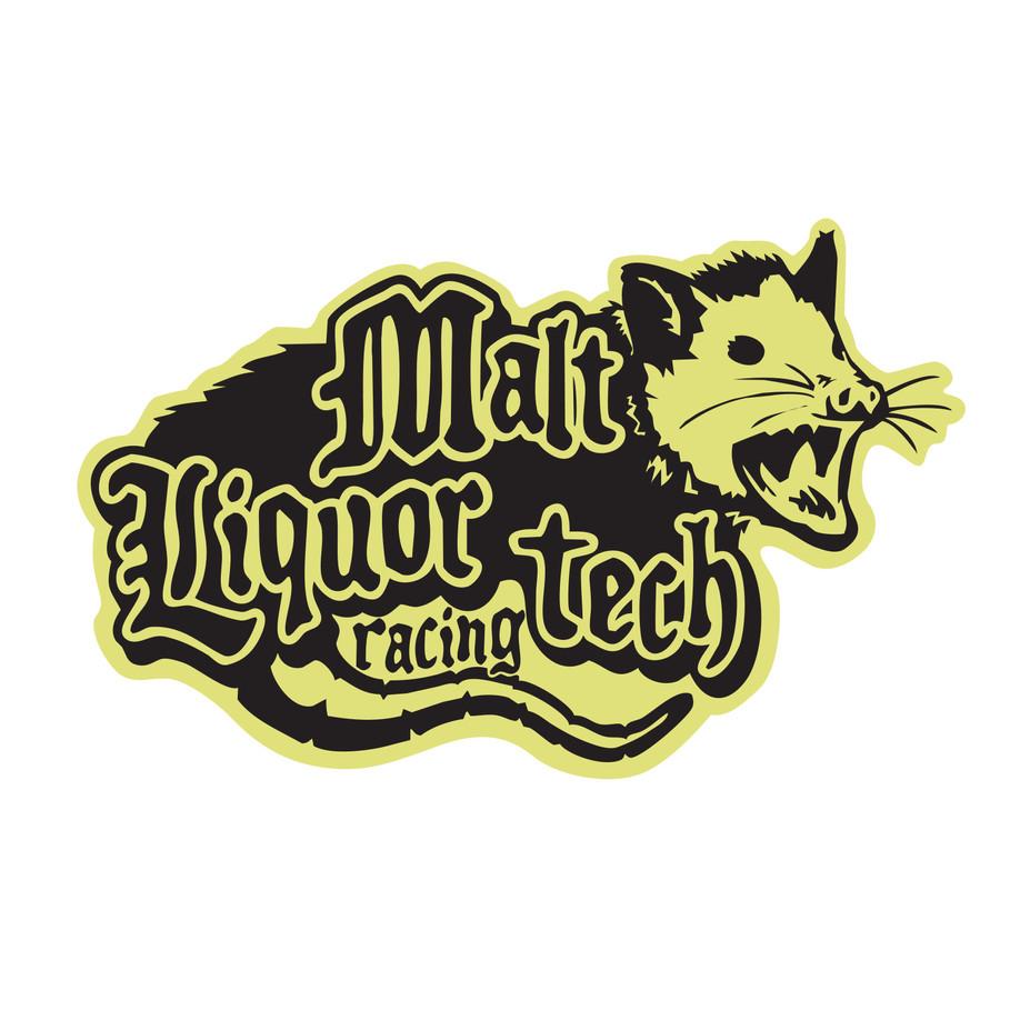 Malt Liquor Tech Logo Design