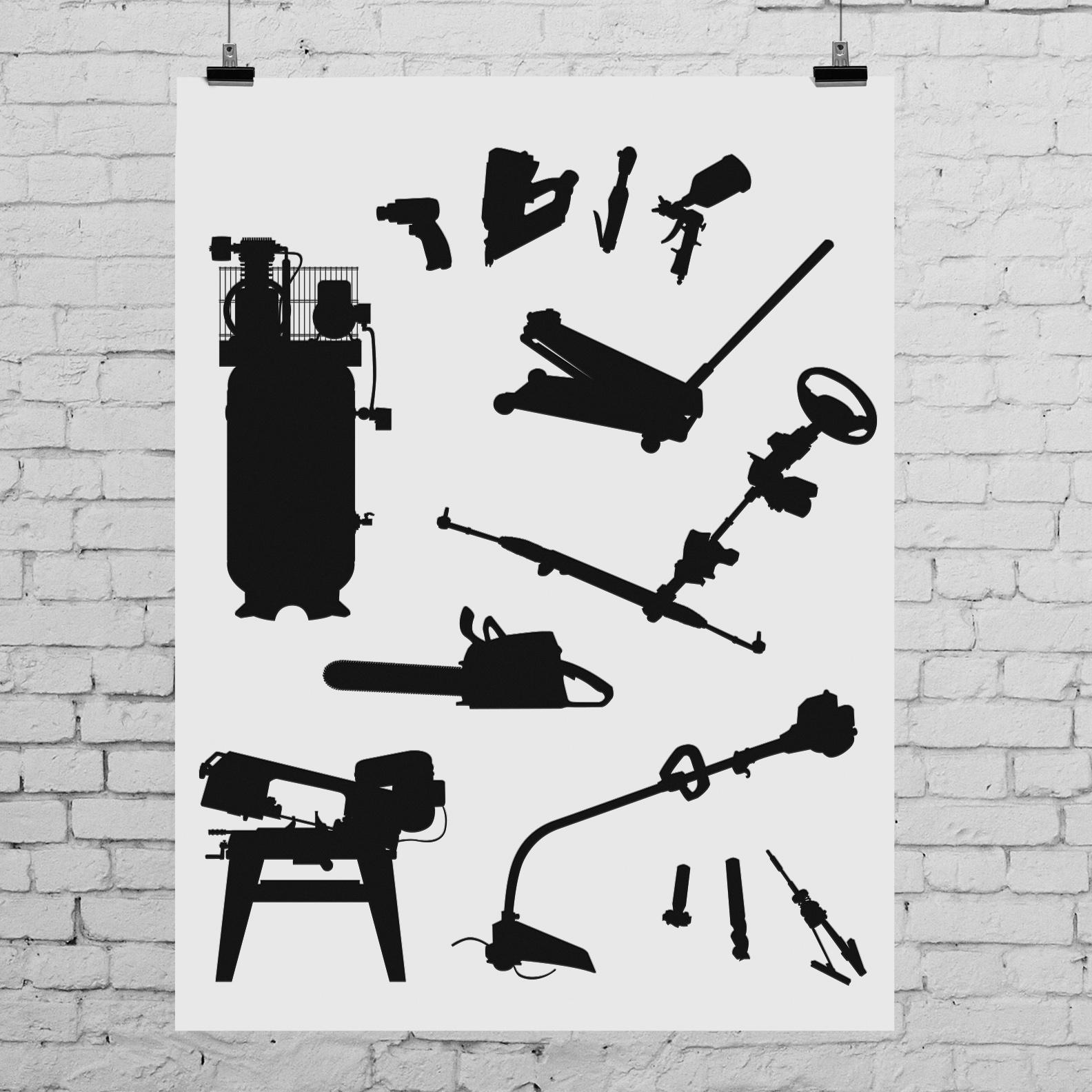 Sta-Lube icon illustrations