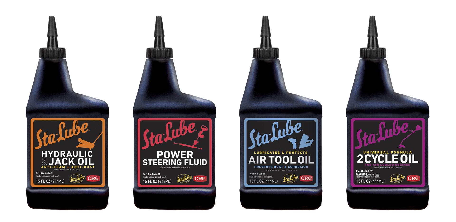 Sta-Lube Shop Oil Set
