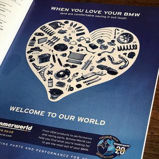 BimmerWorld Print Campaign