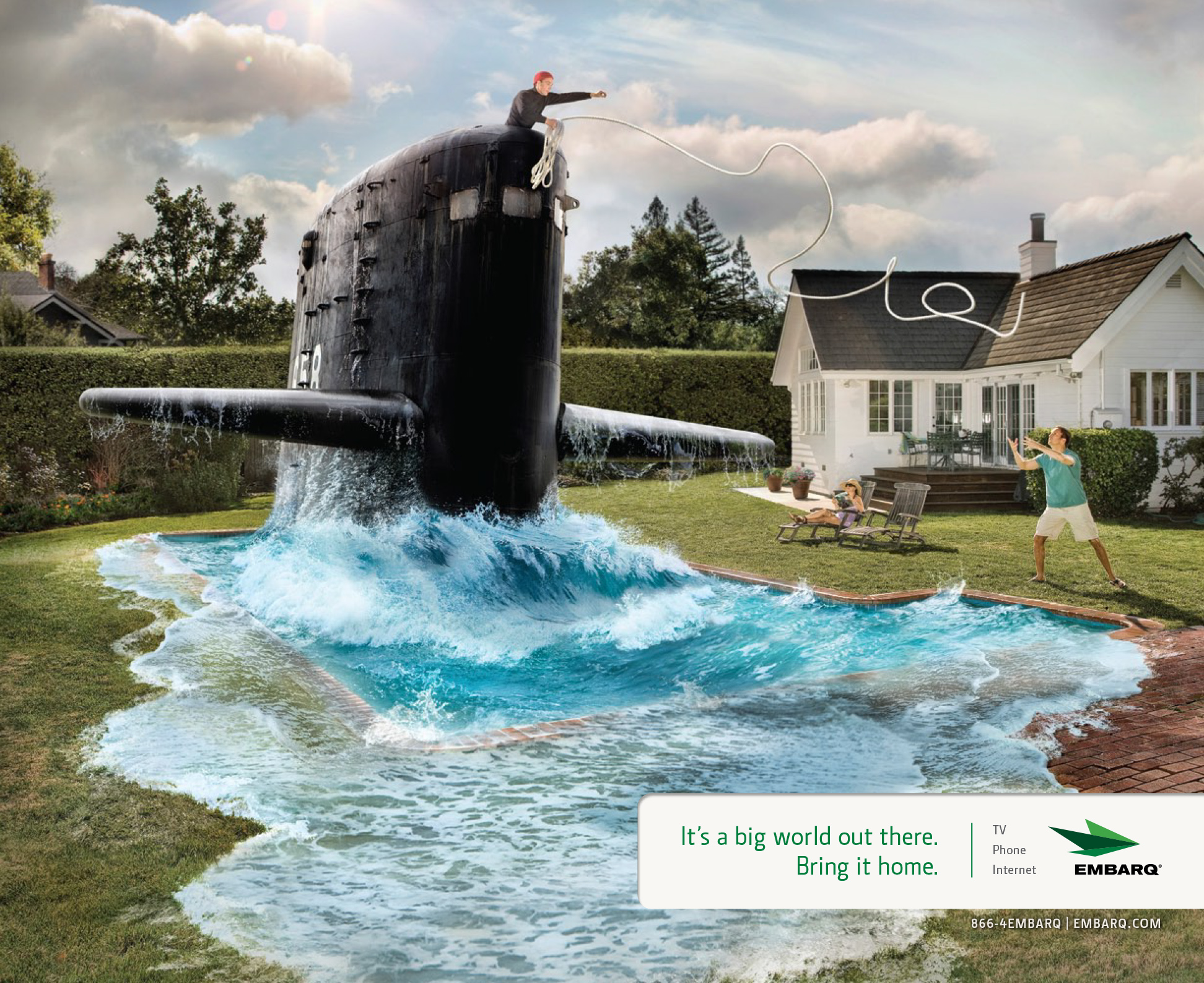 Swimming Pool Submarine