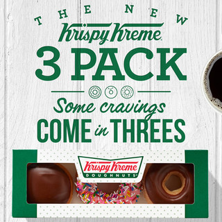 Krispy Kreme 3 Pack