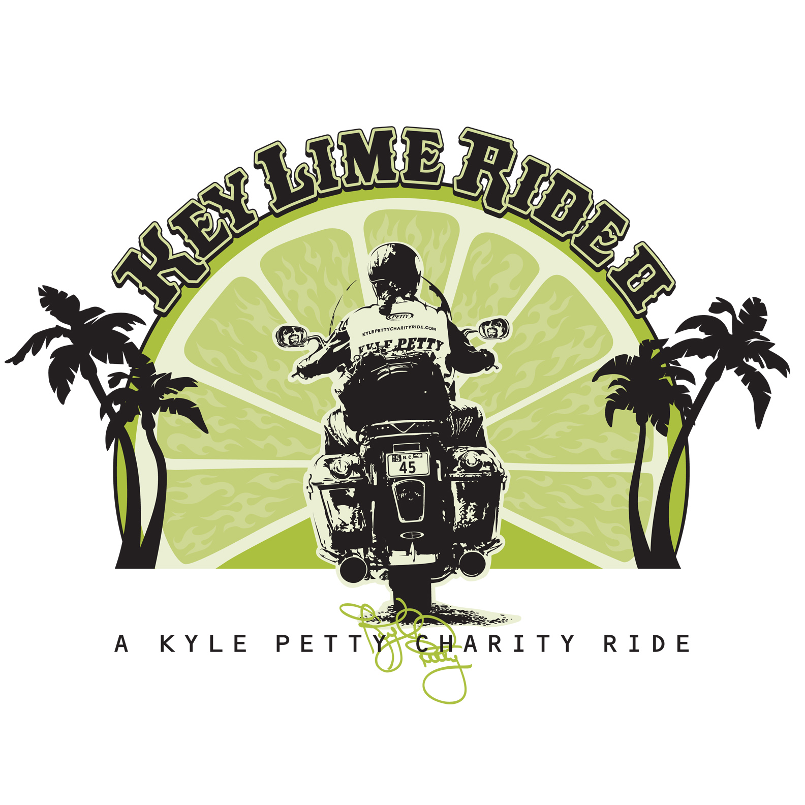 Key Lime Ride T-Shirt Graphic