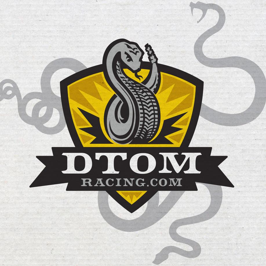 DTOM Racing Logo Design