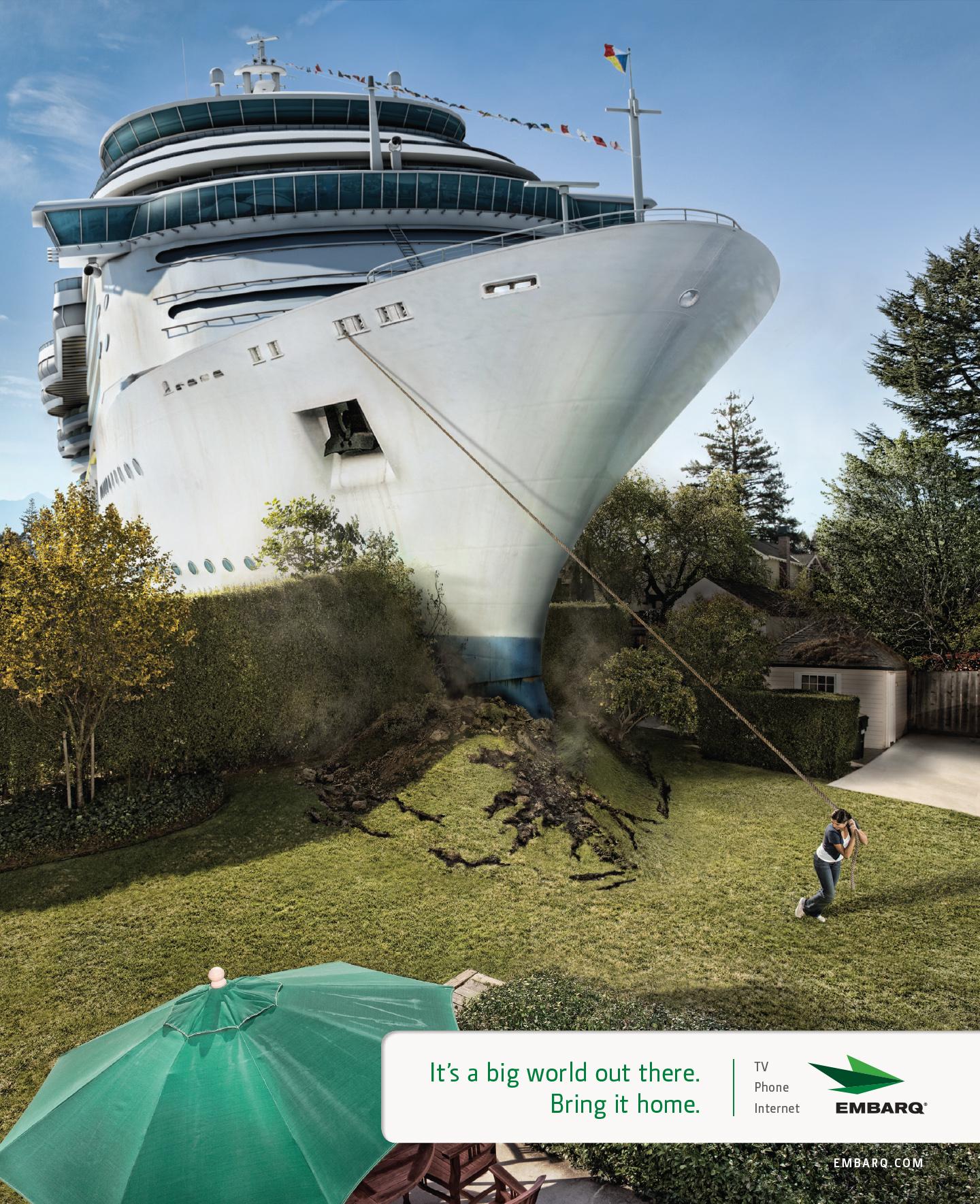 Backyard Cruise Ship