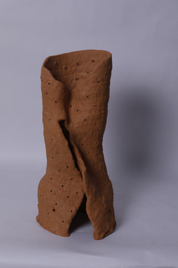 ANTHILL 'O',9''X8''X16'', EARTHENWARE, 2