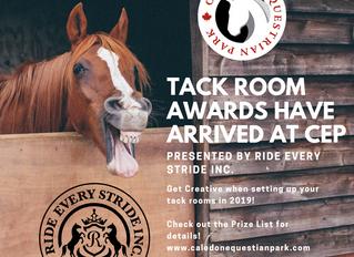 Tack Room Decorating Awards Have Arrived at CEP!
