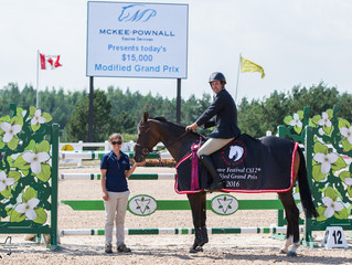Nina Fagerström and Flower come out on top in $50,000 FEI Jumper Classic