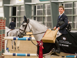 Sam Walker and Acardi Du Houssoit Z close out exciting 2018 CEP show-jumping season with big Grand P