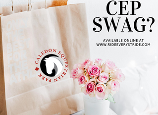 CEP Swag available now through our online store hosted by Ride Every Stride Inc.