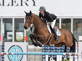 Tiffany Foster and Victor Victorious in $86,000 CSI5* 1.50m Suncast Classic