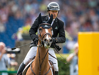 Eric Lamaze and Fine Lady 5 Defend Title in Aachen