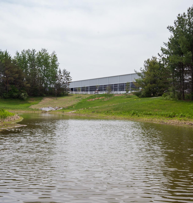 2015 Arena Complex-Pond