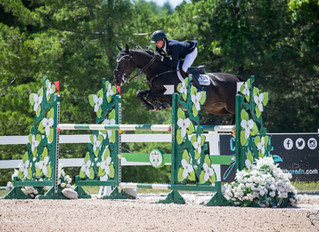 Sam Pegg rides Shaia de Macheco to victory in $20,000 Grand Prix in first phase of Caledon Premier a