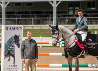 Conor Swail and James Chawke pull off 'Irish sweep' at Classic @ Palgrave Phase 2 CSI3*