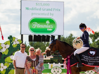 Amy Millar, Shannon Clifford and Ryan Roy shine at Caledon Premier 2 CSI2*