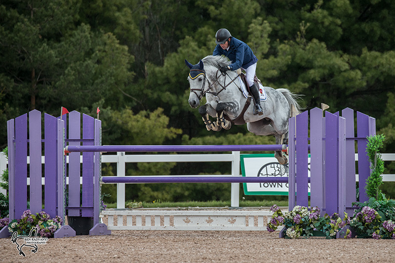 Conor Swail and Dillinger had a big week at the Classic @ Palgrave CSI2* Phase One, taking home top prize in Sunday's $50,000 FEI Jumper Classic, presented by Horseware. Swail and Dillinger also placed fifth earlier in the week in the $35,000 FEI Open Welcome, presented by Antares on Friday. (Photo courtesy of Ben Radvanyi Photography)