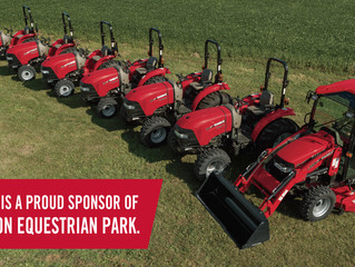CASE IH Named Official Agricultural Equipment Supplier  of Caledon Equestrian Park