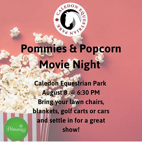 Pommies & Popcorn Movie Night 2 at CEP.p