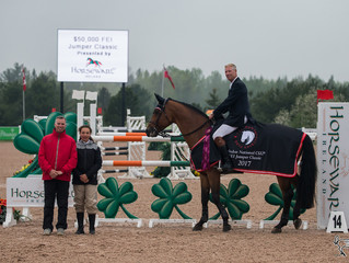It's a wrap! Captain Canada earns Jumper Classic win at Caledon National CSI2* and more