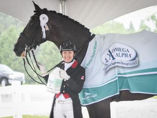 Tattoo 15 named 2018 Omega Alpha Healthy Horse Award winner at Caledon Equestrian Park