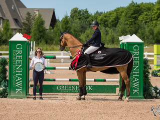 Nora Gray and Dior claim top prize in Caledon Premier $25,000 Grand Prix