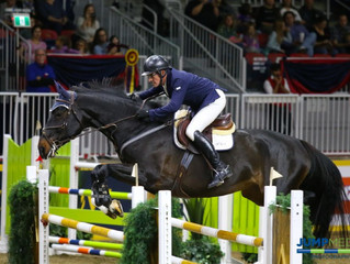 Jeff Brandmaier and Knightwood's Caliana Named Royal Horse Show and Canadian 1.40m Junior/Amateur Ch