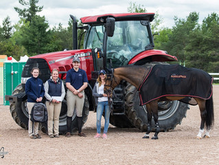 Second Time's a Charm for the Mckee -Pownall Equine Services FEI Groom Appreciation Award