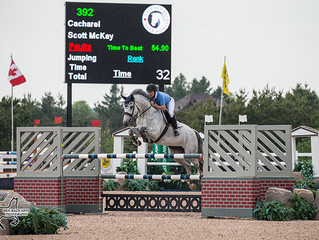 Big numbers at Caledon Equestrian Park as luck of the Irish finally runs out