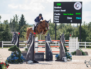 Clean sweep for Irish duo at first phase of Classic at Palgrave CSI2*