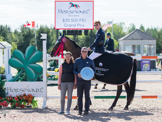 Coyle and Soleau-Millar win big to kick off 2018 season at Caledon Equestrian Park in style