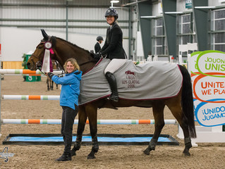 Jacqueline Steffens claims top prize in $15,000 U25 Young Rider Development qualifier at Caledon Equ