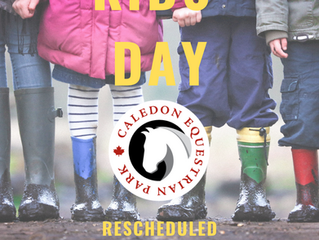 Kids Day at CEP has been Rescheduled!