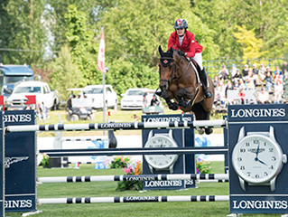 Canadian Show Jumping Team Second in Langley Nations' Cup