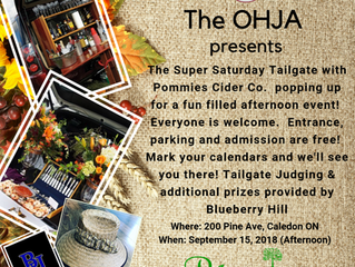 Time to Get your Tailgate on with Pommies and the OHJA!