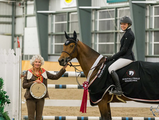 Lexi Ray and Jewel 8 close out 2019 Caledon Equestrian Park with 2 big wins at Fall Finale