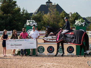 Ali Ramsay and Hermelien VD Hooghoeve crowned 2017 Caledon Cup Champions at Canadian Show Jumping To