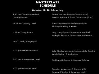 Ingrid Klimke Masterclass Schedule