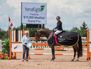 Sarah Long and Erynn Ballard impress at Caledon Equestrian Park's Equestrian Festival