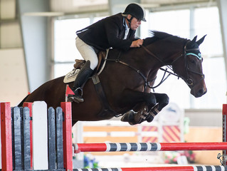 Hugh Graham and Knock Out 3E big winners in Fall Finale Grand Prix  at Caledon Equestrian Park