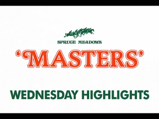 Spruce Meadows 'Masters' Tournament CSIO5* Begins  with Wins for Lorenzo de Luca and Steve Guerdat