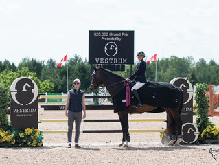 Farlinger wins twice at Summer Classic while Caledon Equestrian Park celebrates Canada 150 in style