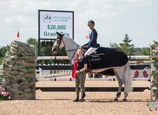 Miranda Travers-Cavill and KT Levigno top field in $20K Equestrian Festival Grand Prix at CEP