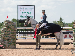 Miranda Travers-Cavill and KT Levigno top field in $20K Equestrian Festival Grand Prix at CEP