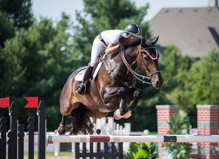 Kim Farlinger and Stanley Stone ride to victory in $25,000 Summer Festival Grand Prix at Caledon Equ